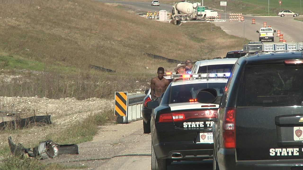 Police catch teen after I-35 car chase, 3 hour manhunt