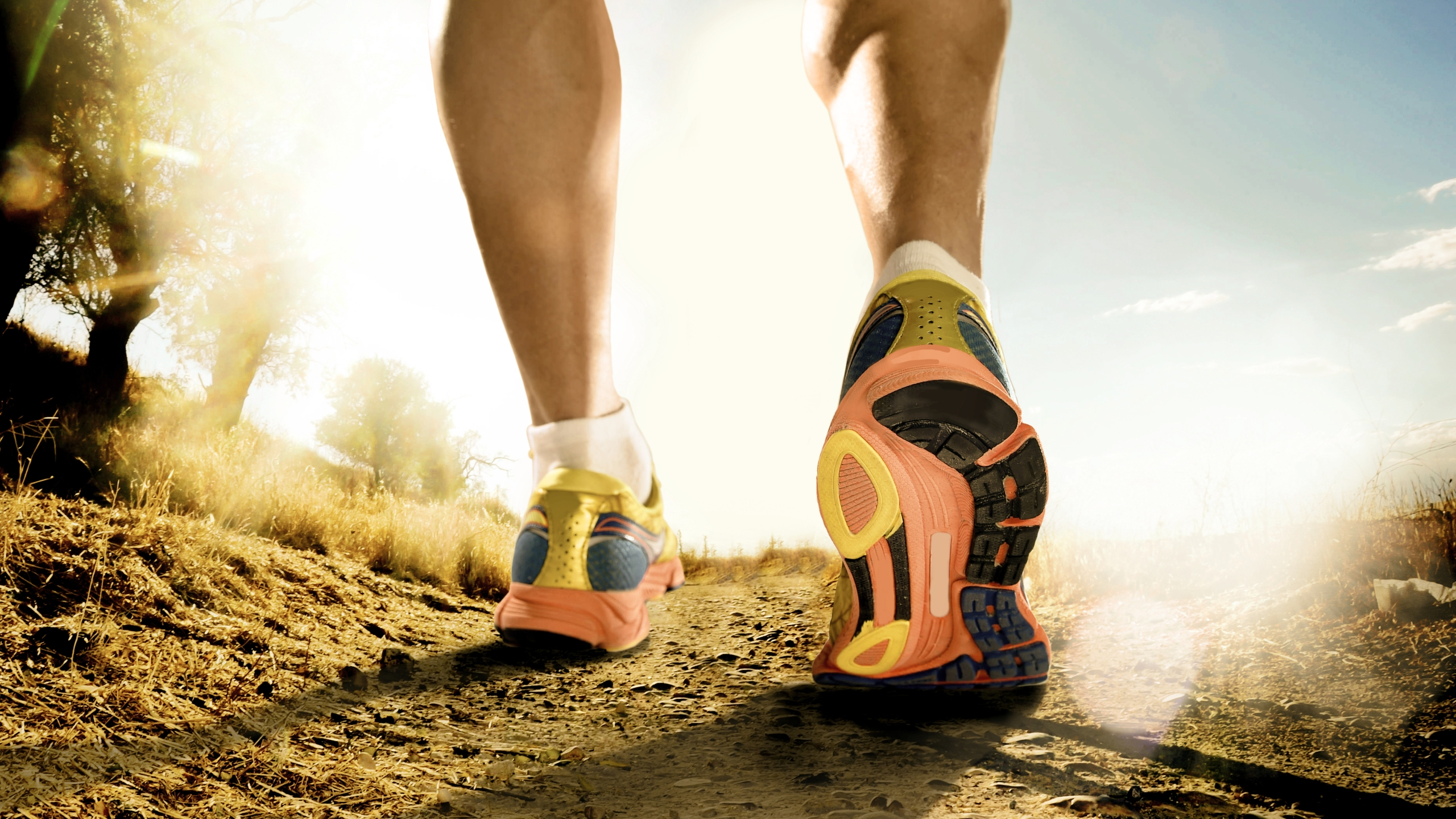 Strong Legs And Shoes Of Sport Man Jogging In Fitness Training W_1494529522603