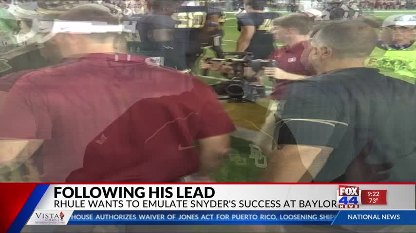 Rhule expresses Admiration for Snyder