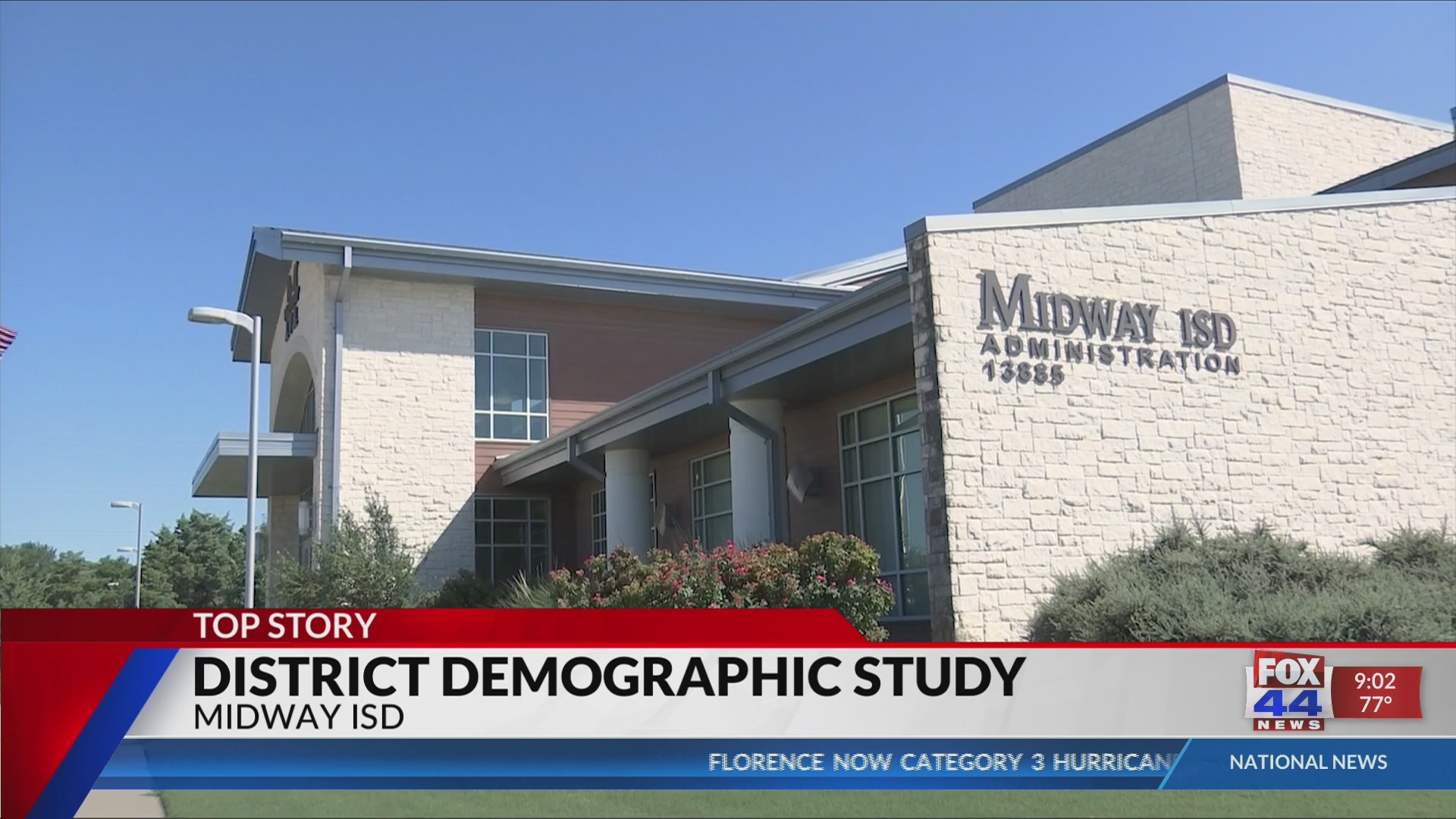Midway ISD is growing fast