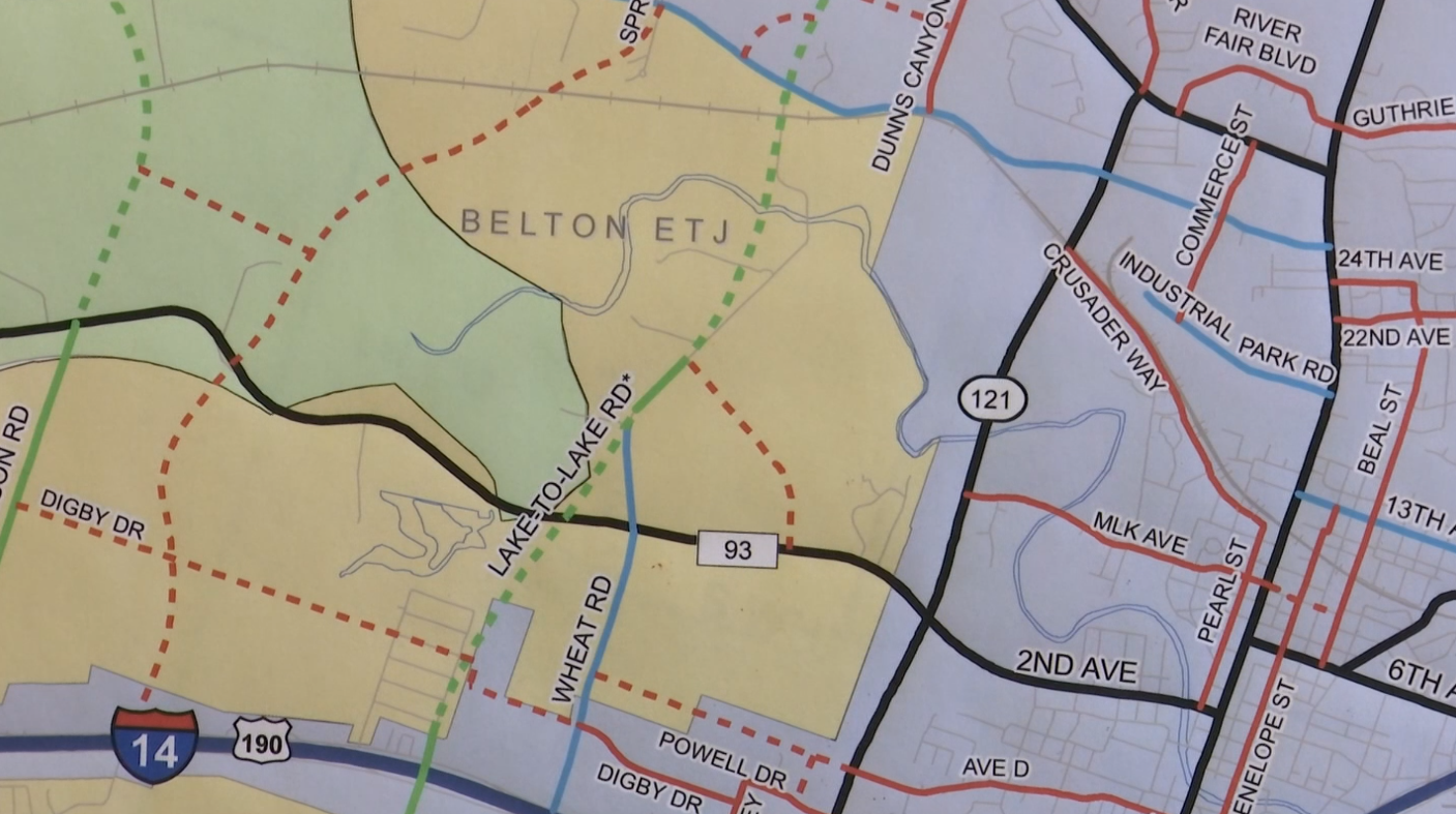 Group opposes proposed Lake-to-Lake Road in Belton