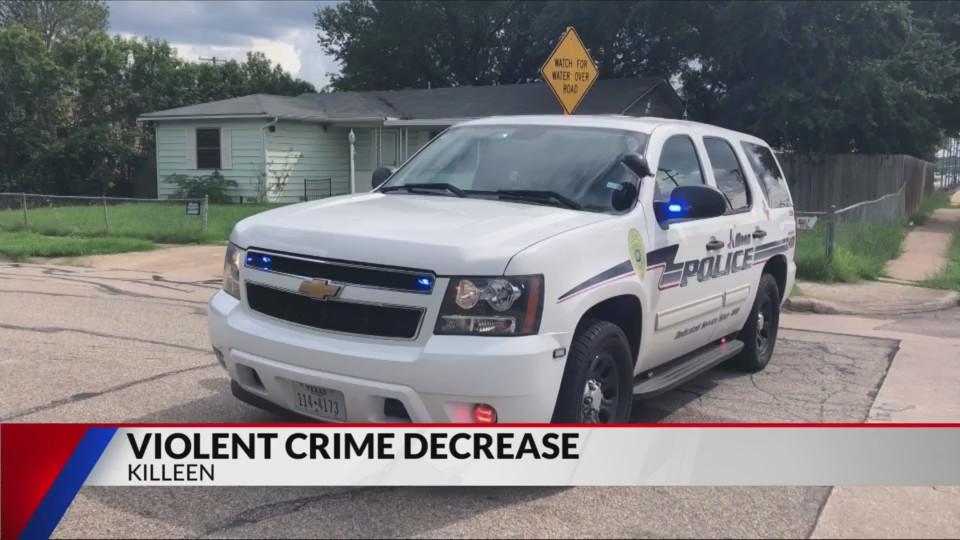 City of Killeen sees decrease in violent crime