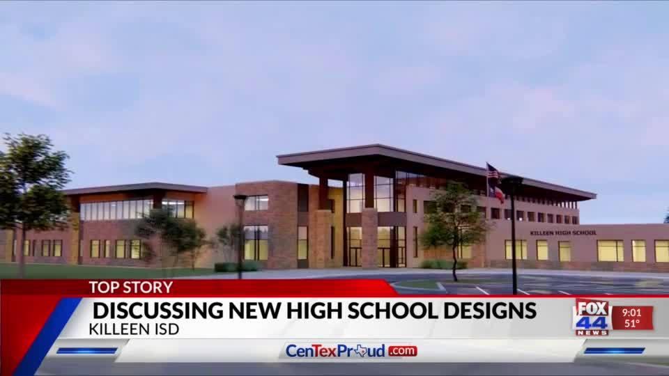 Killeen ISD postpones vote on high school design and renovations