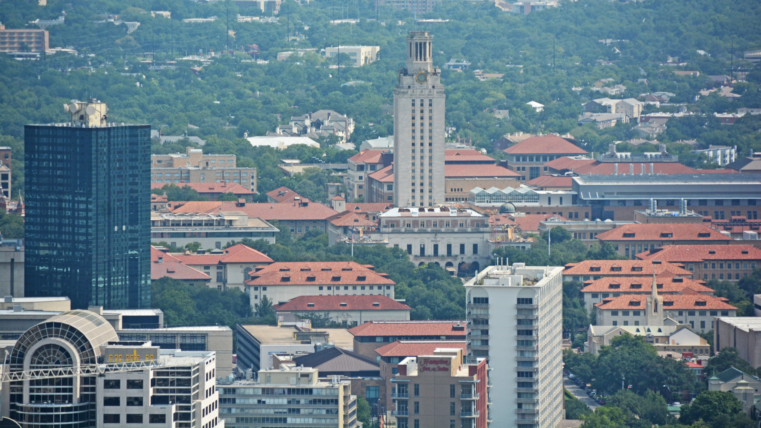 ut austin ut tower kxan