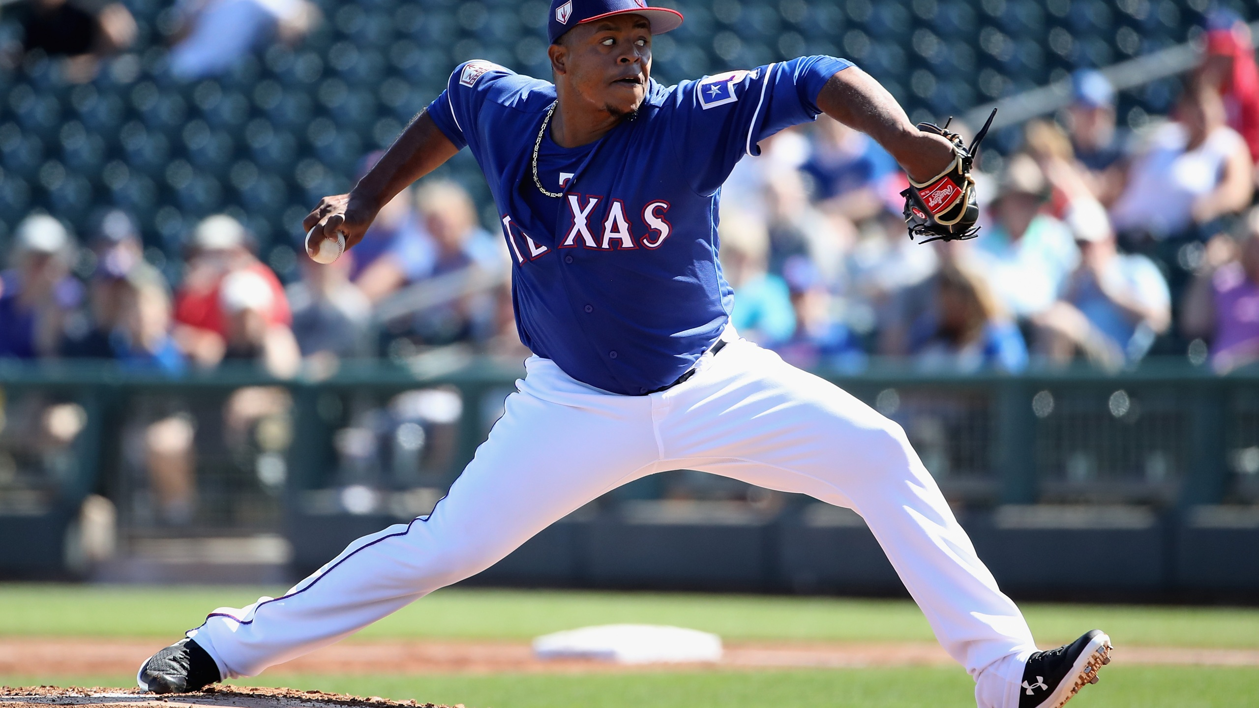 Edinson Volquez Texas Rangers Getty