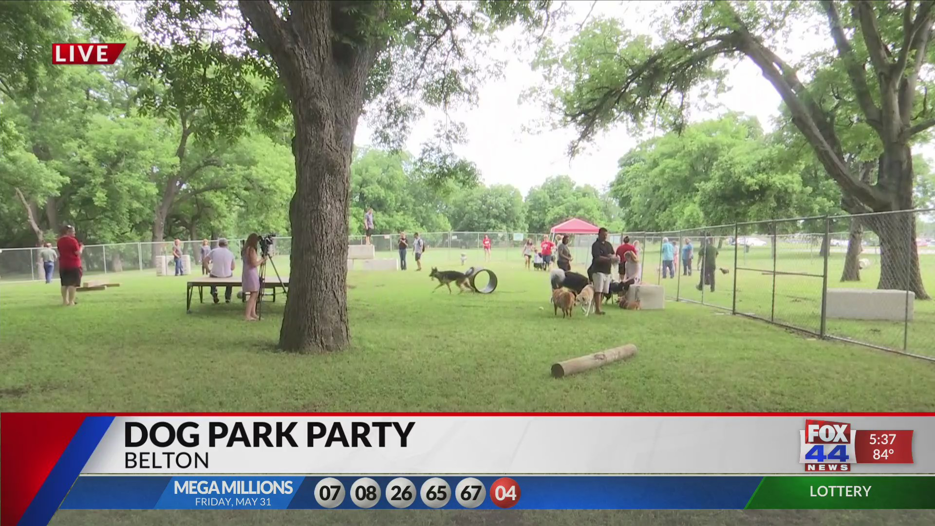 Pop-Pup' party could lead to dog park in Belton