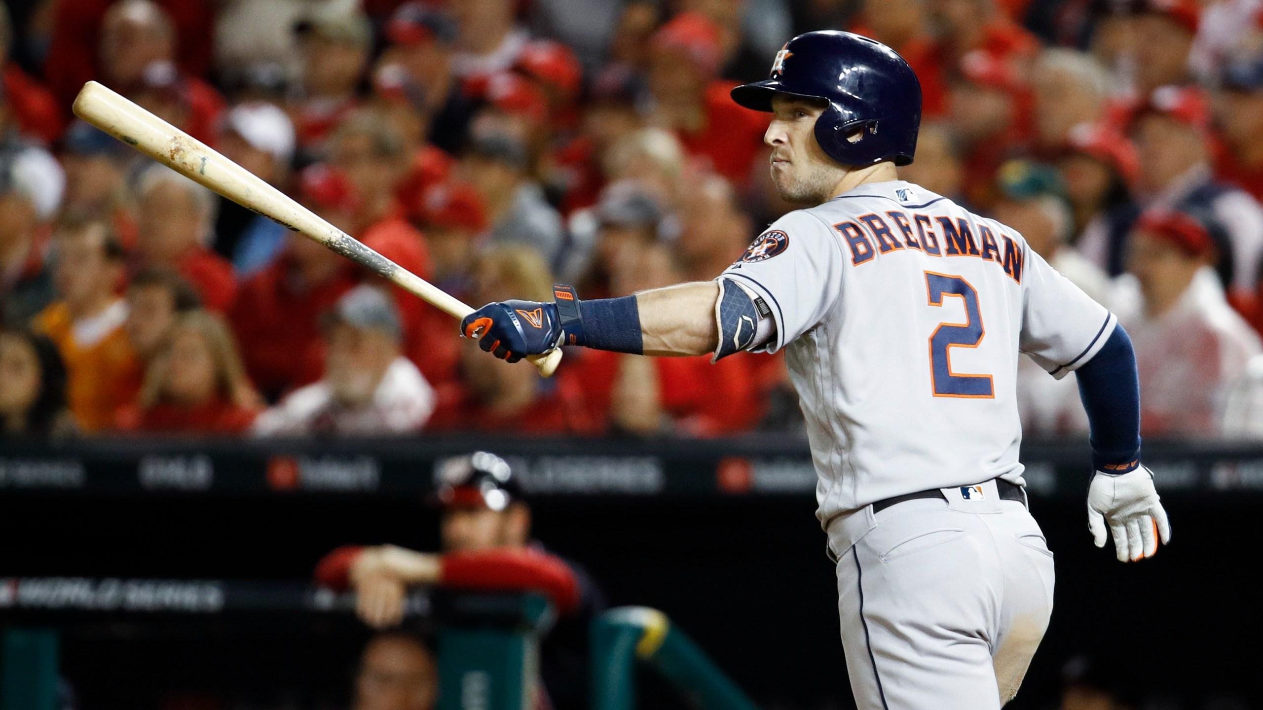 Astros Star >> Slumping Astros Star Bregman Breaks Loose Slams Nationals