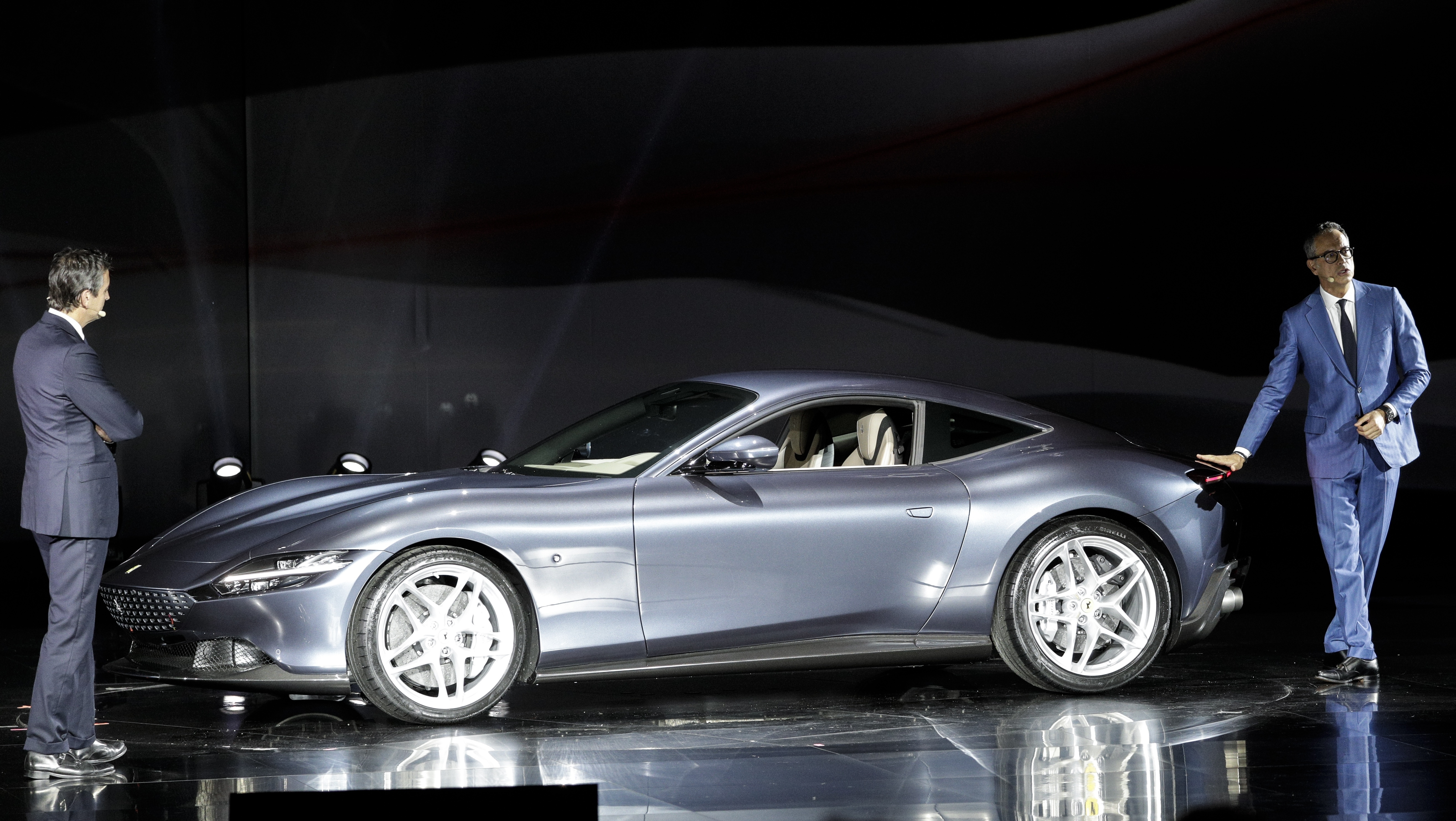 Ferrari aims to entice new clients with Roma coupe