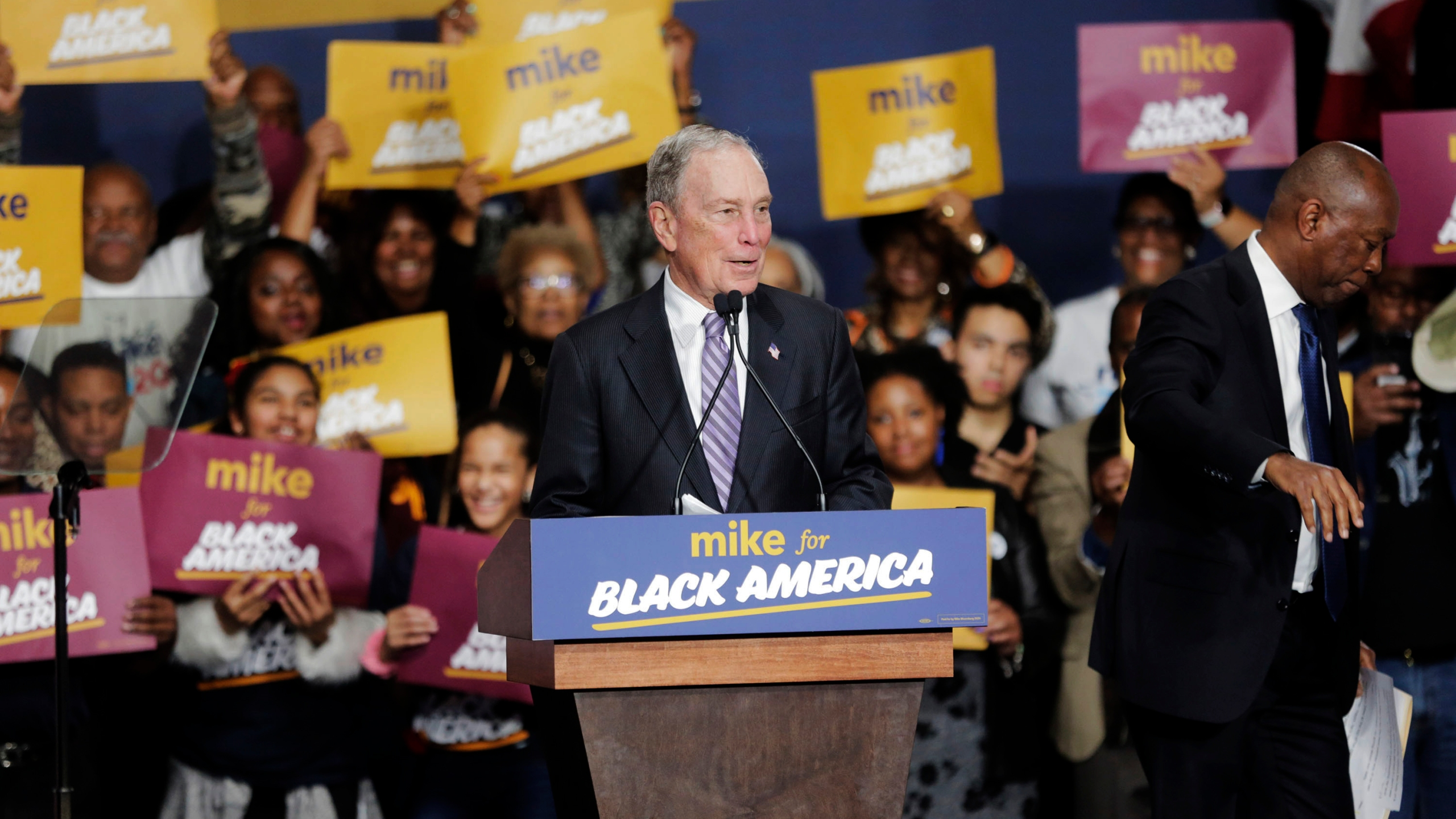 Mike Bloomberg, Michael Bloomberg, Sylvester Turner
