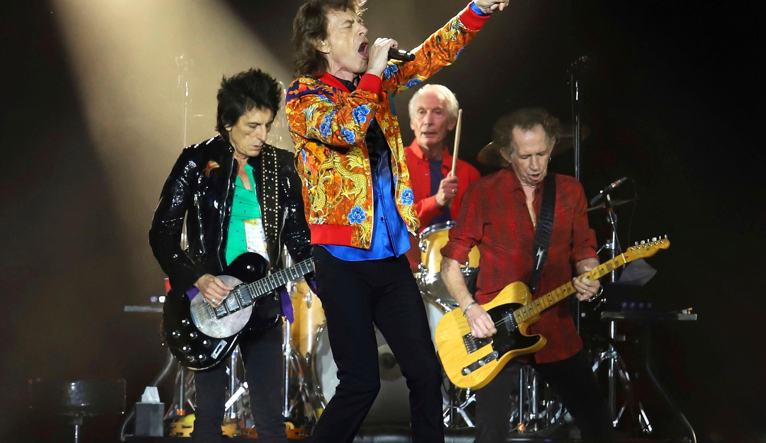 Ronnie Wood, Mick Jagger, Charlie Watts, Keith Richards