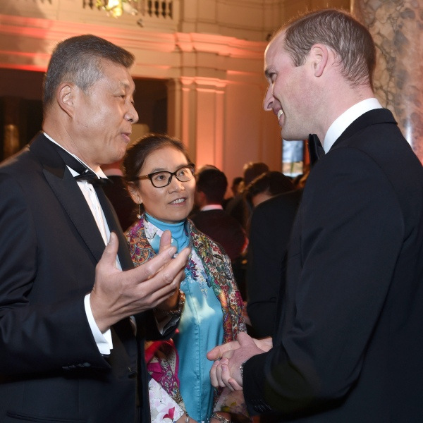 Liu Xiaoming, Prince William