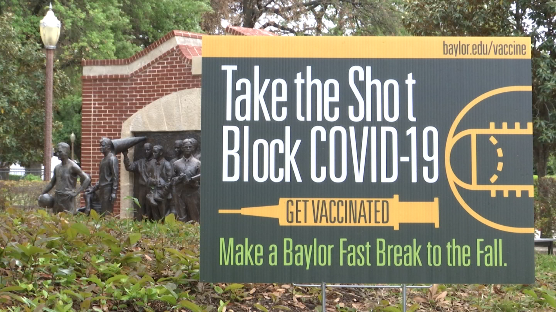Baylor Calendar Fall 2022.Baylor Urges Students To Get Vaccinated For Normal Fall Semester Kwkt Fox 44