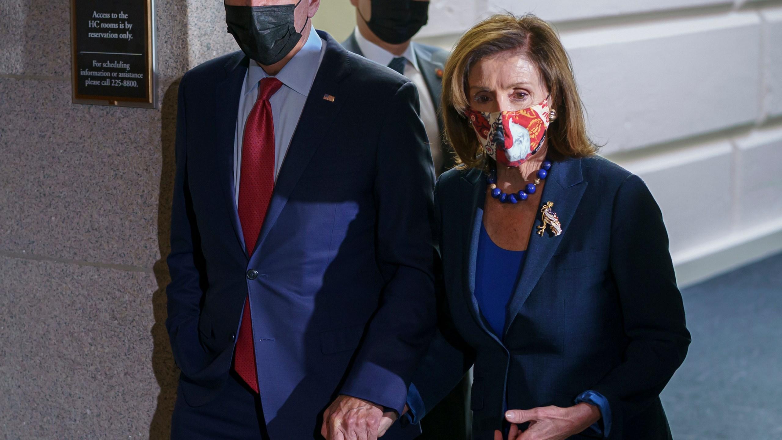Joe Biden, Nancy Pelosi
